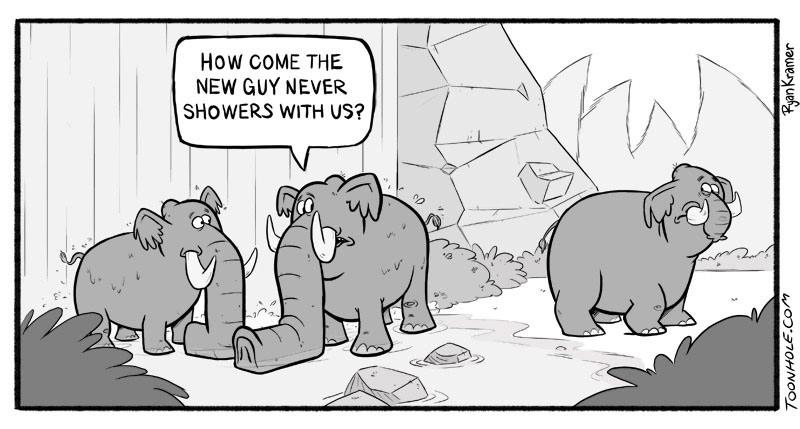 Elephant Trunk Envy