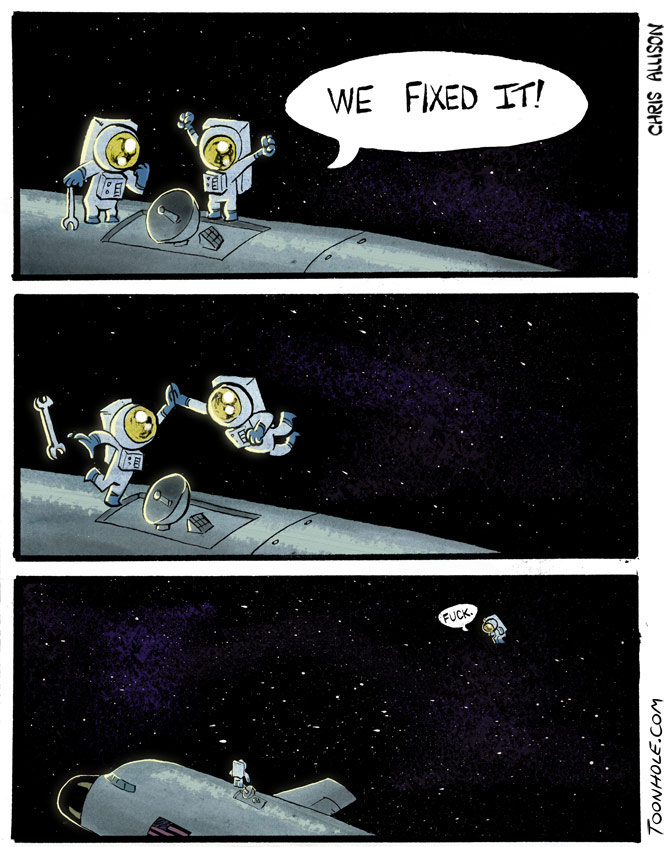 Space High Five