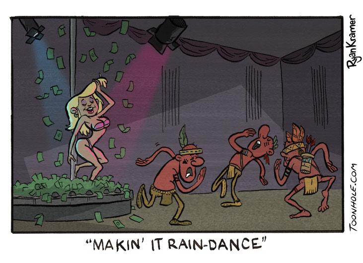 Make It Rain Dance
