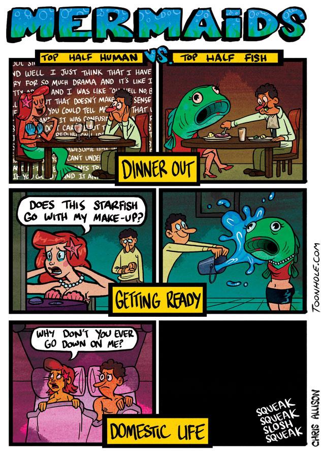 Mermaid Conundrum