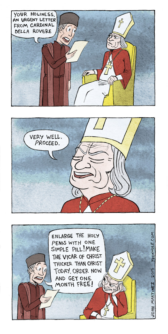 Letter To The Pope