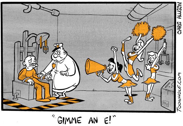 Gimme an E!