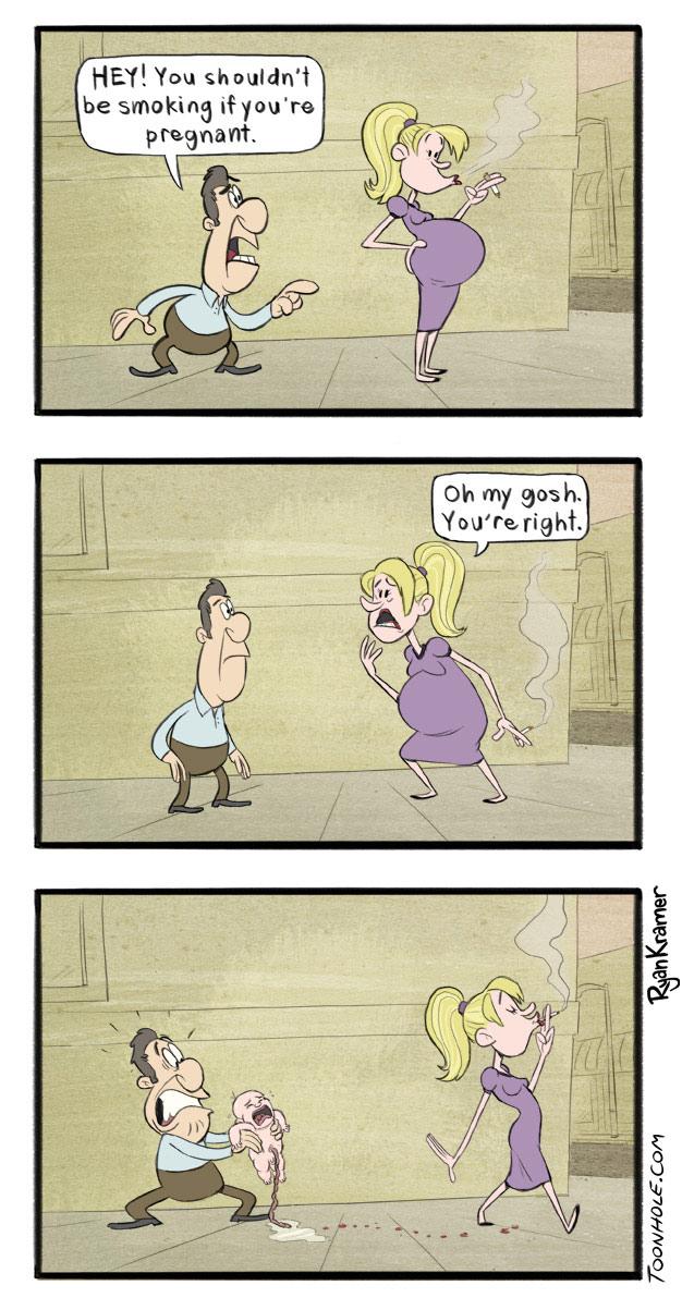Pregnant Smoker