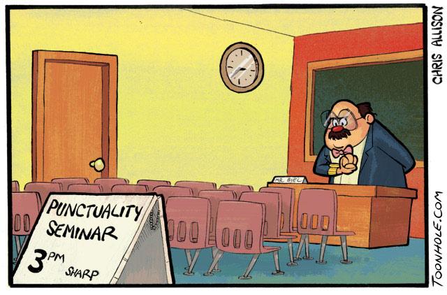 Punctuality Seminar