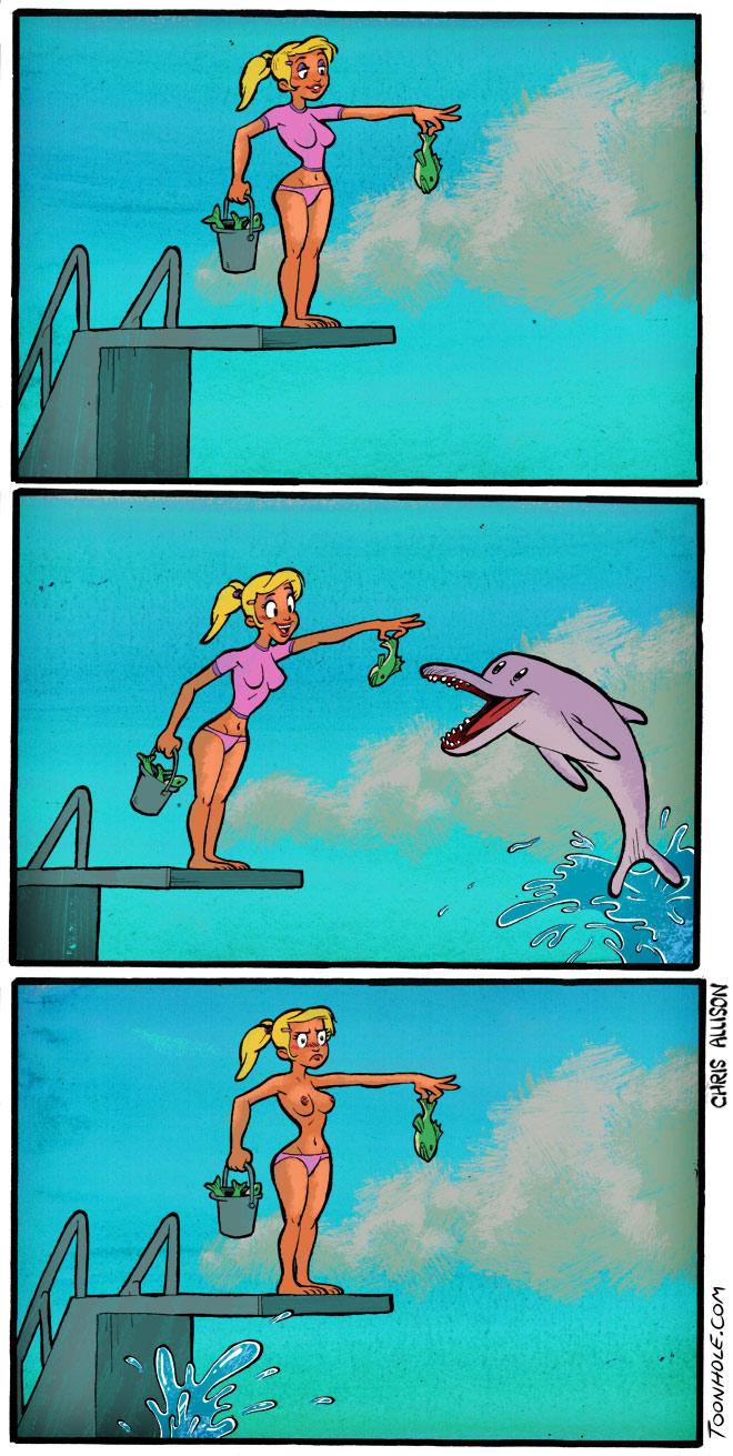 Dolphin Trick