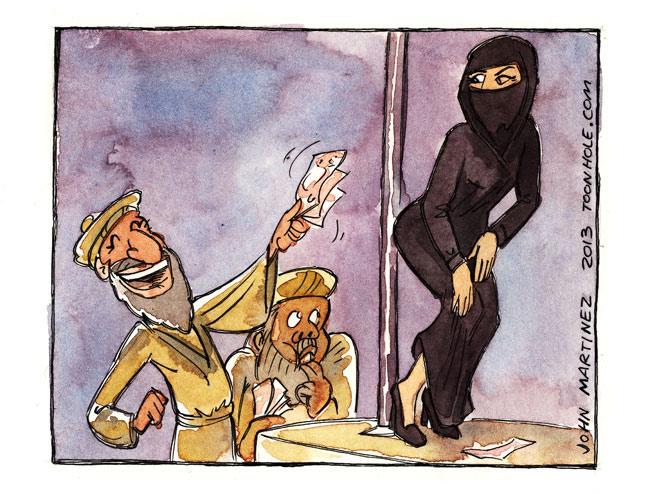 Sharia Strip Club