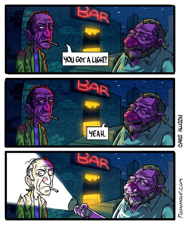 Got A Light