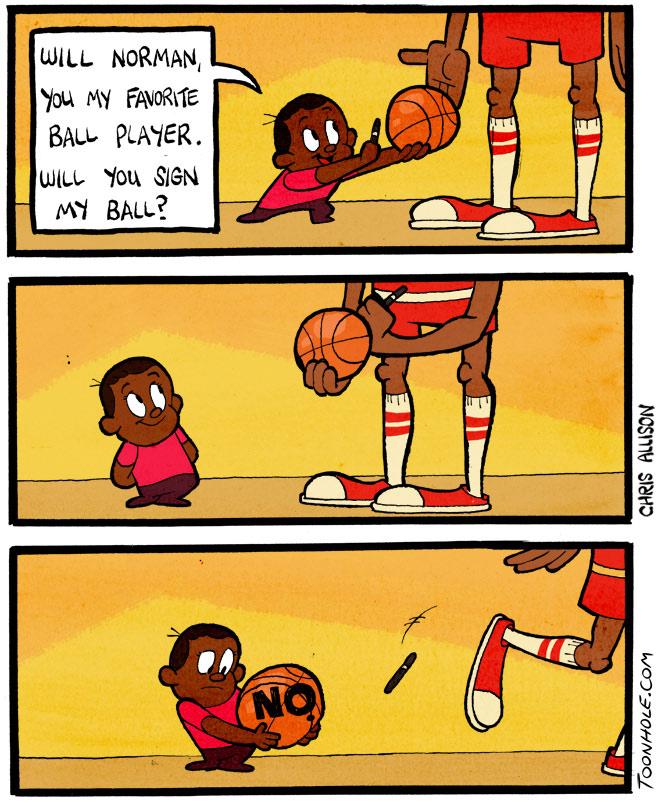 Baseketball Autograph