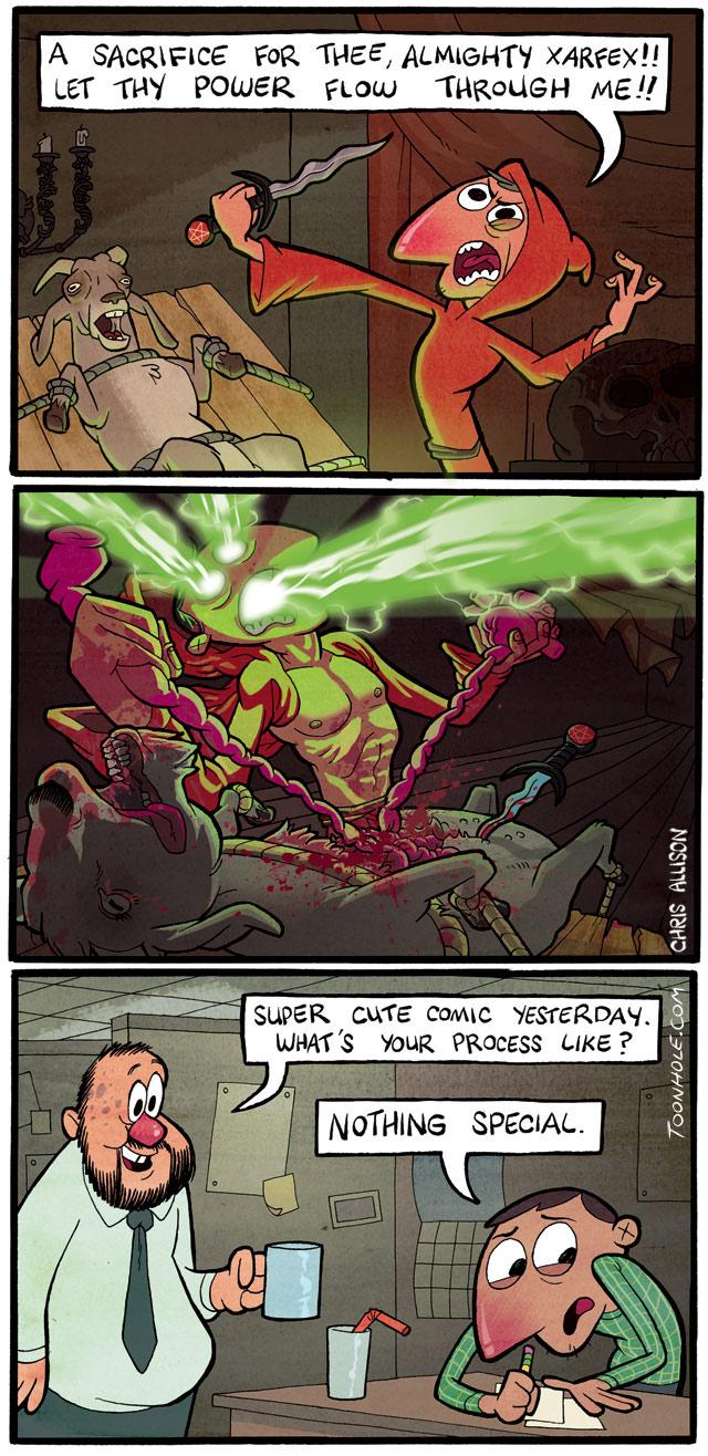 Comic Process