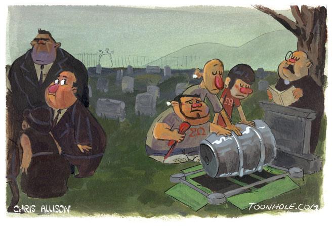 Keg Funeral
