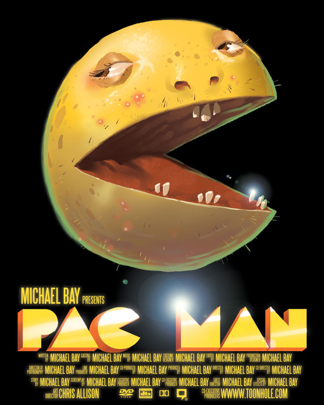 Michael Bay's Pacman