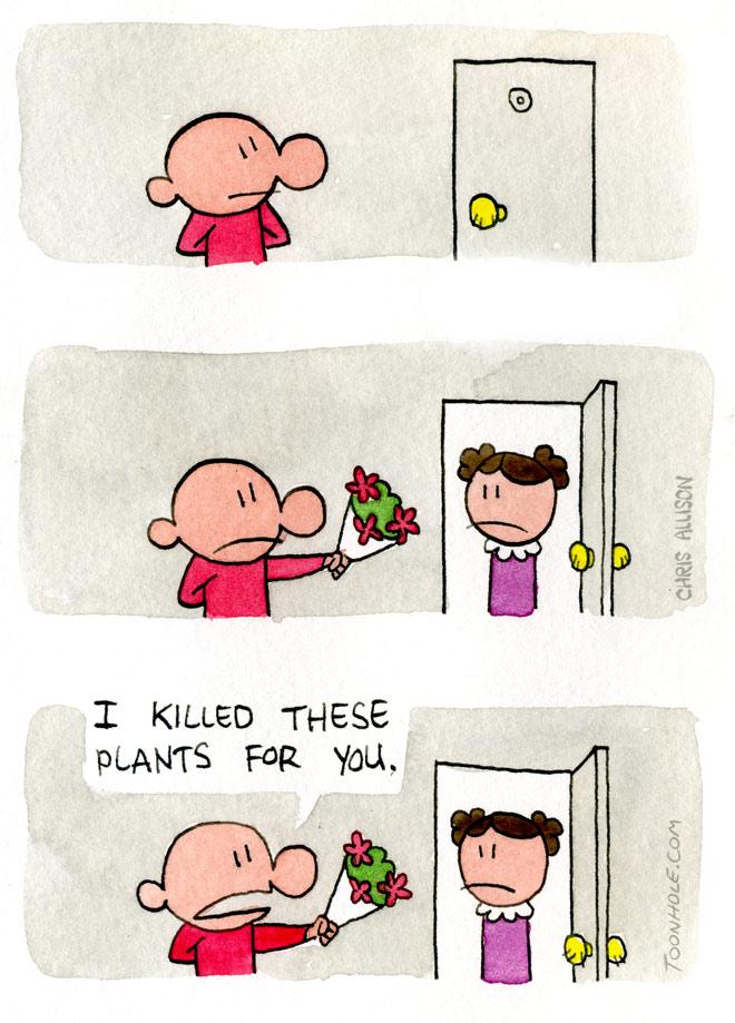 Blind Date Flowers