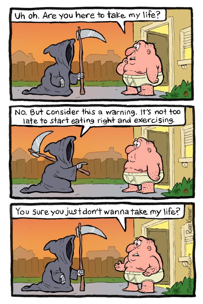 Grim Reaper Visit