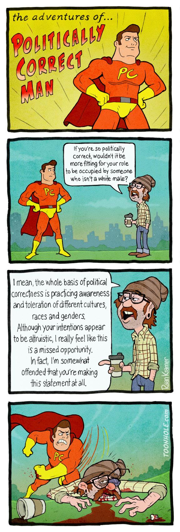 Politically Correct Man