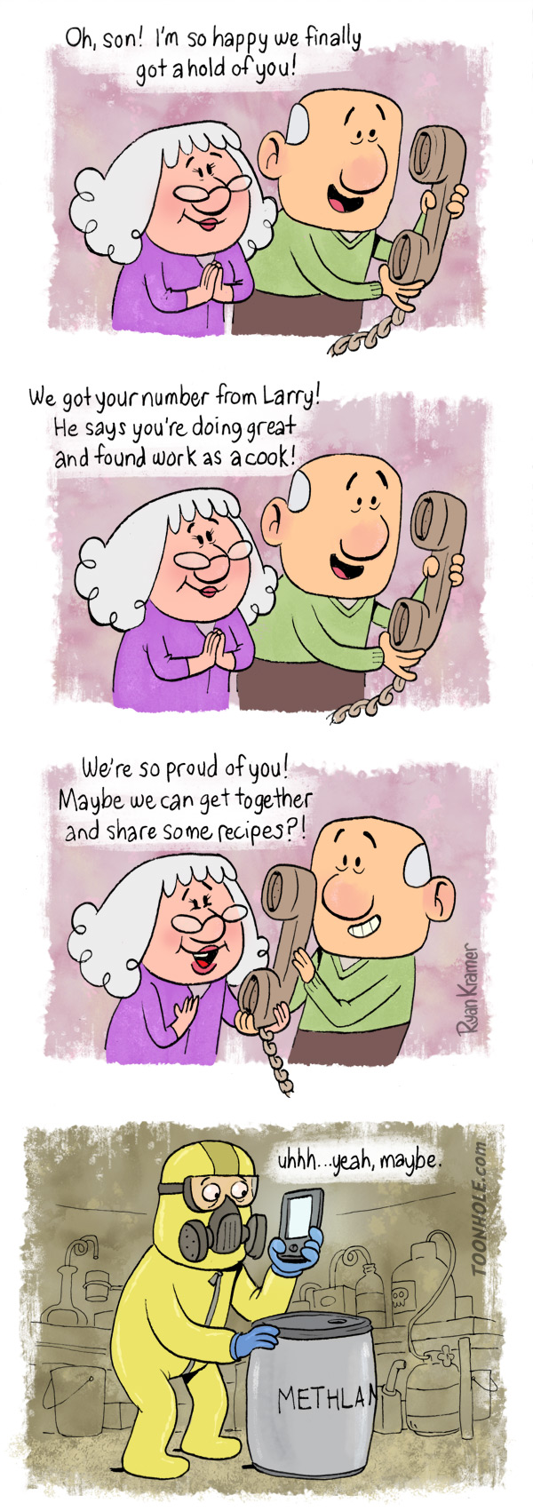 Parents Phone Call
