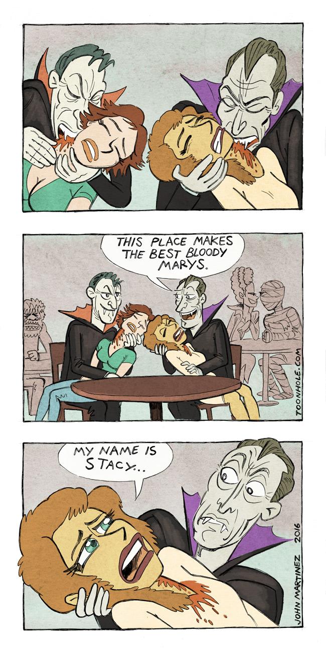 Vampires Drink