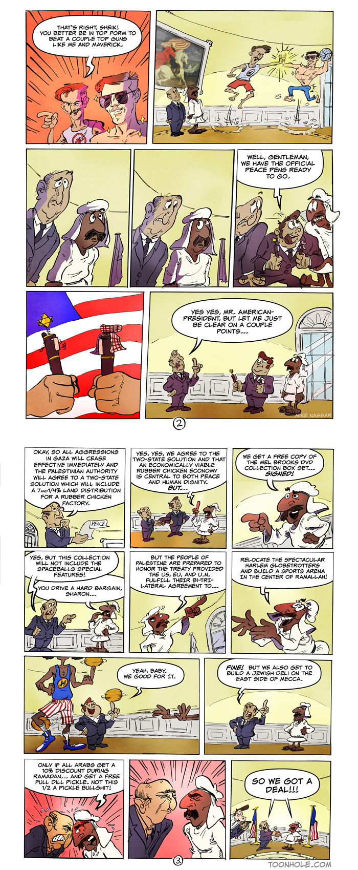 Dallas T. Washington – Pages 2-3